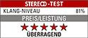 Stereo Test p4 Match Air